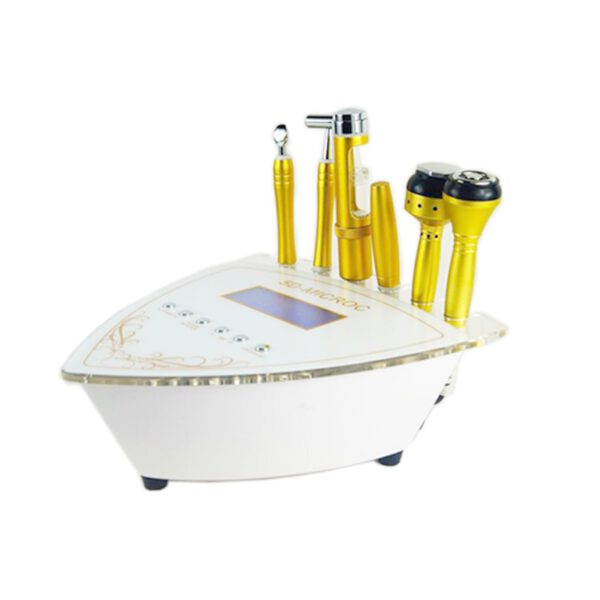 Аппарат 4 в 1 : электропорация, микротоки, РФ, холод